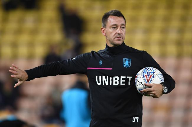 John Terry has extended his contract with Aston Villa