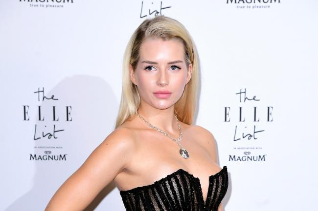 Lottie Moss at the ELLE List 2019 VIP Party – London