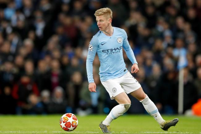 Oleksandr Zinchenko has committed his future to Manchester City