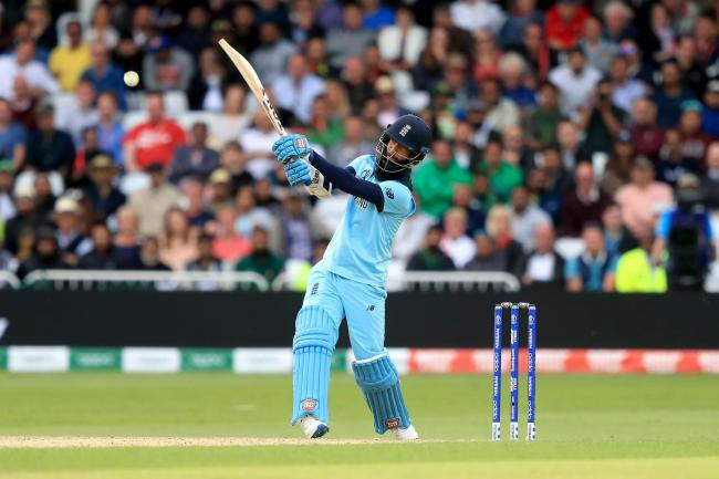 Moeen Ali said his six was bigger than any of Eoin Morgan's 17