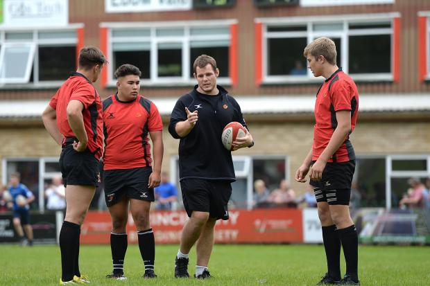 TOP TIPS: Former Dragons prop Sam Hobbs has been appointed as academy forward coach