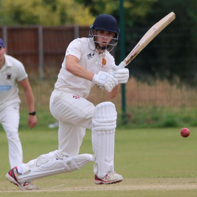 CRUISE: Olly Robson scored 28 against Monmouth as he and fellow opener Matt Hancock guided Usk to an easy win