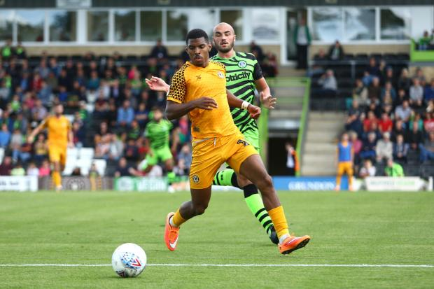 Campaign Series: STAR MAN: Tristan Abrahams in action at The New Lawn