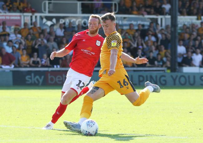 TALENT: George Nurse was unlucky not to start on Saturday, according to Newport County boss Michael Flynn