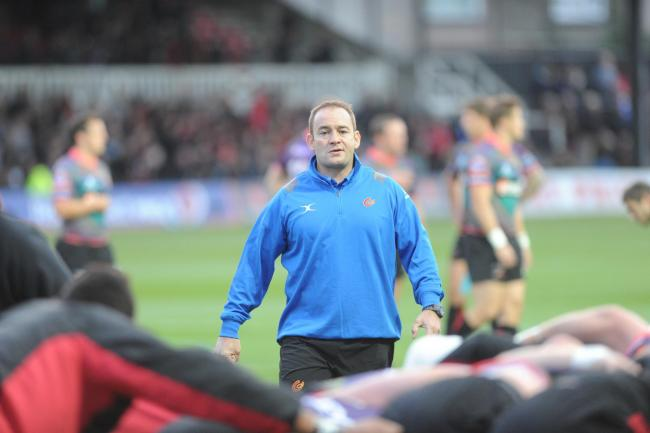 CONTENDER: Former Dragons boss Darren Edwards