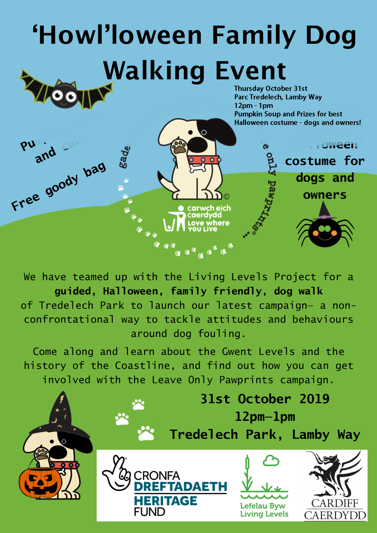 'Howl'loween Family Dog Walking Event