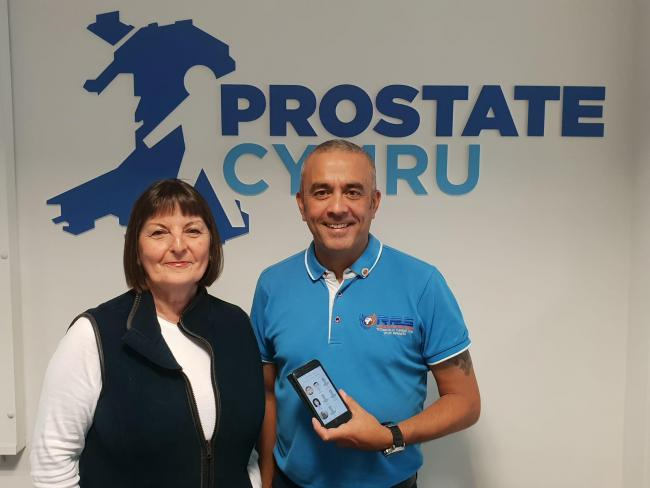 Prostate Cymru helpline goes live thanks to RPS Technology Solutions, of Cwmbran