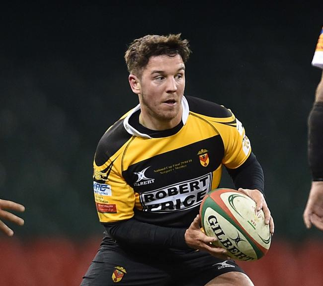 Newport fly-half Matt O'Brien