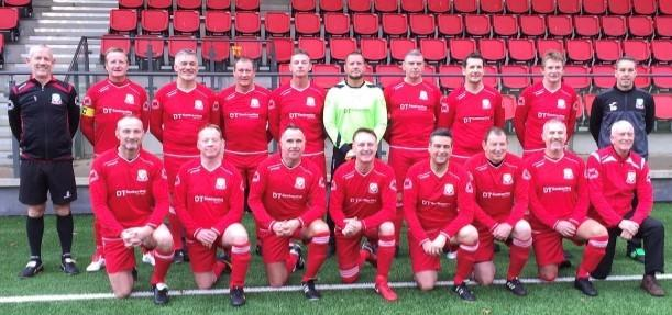 UP AND RUNNING: Wales 50s beat Droitwich 2-1 at Ystrad Mynach