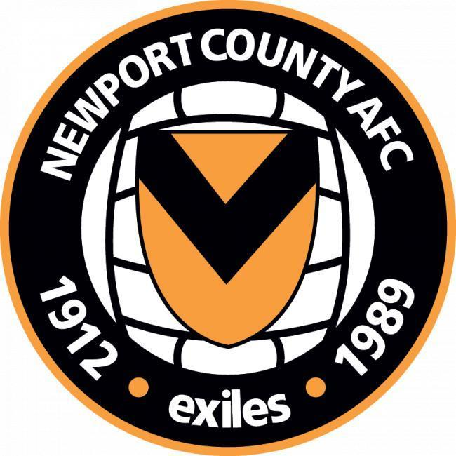 Newport County AFC badge.