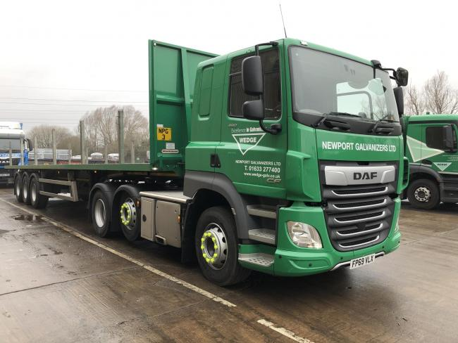 New livery on the road for Newport Galvanizers