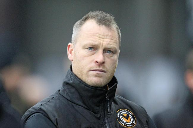 UPS AND DOWNS: Newport County manager Michael Flynn is trying his hardest to bring in new players