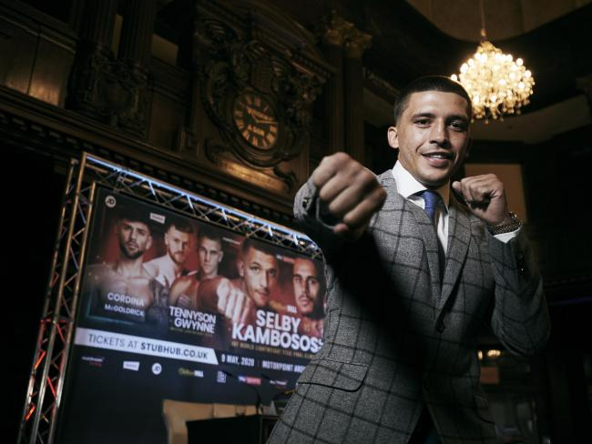 IN DANGER: Lee Selby is supposed to be fighting George Kambosos in Cardiff on May 9. Picture: Mark Robinson