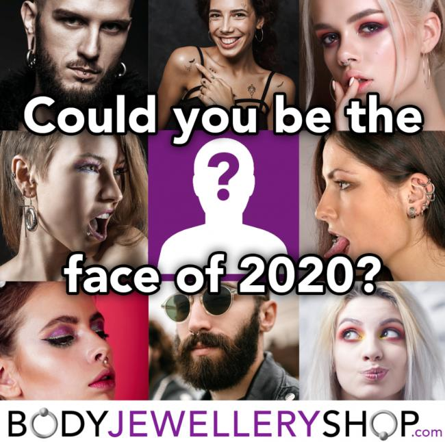 Be the face of bodyjewelleryshop.com