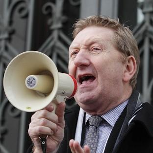 Unite general secretary Len McCluskey has not ruled out the possibility of staging industrial action during the Olympic Games