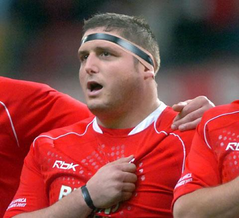 FLASHBACK: Rhys Thomas in his Wales heyday