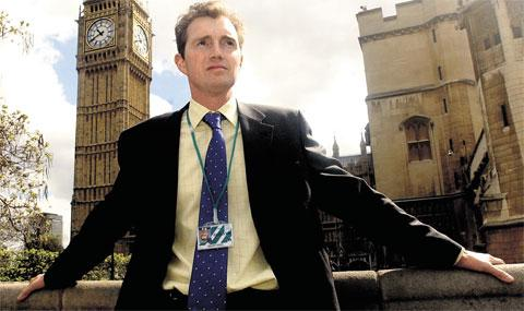 OLYMPIC DUTY: Monmouth MP David Davies