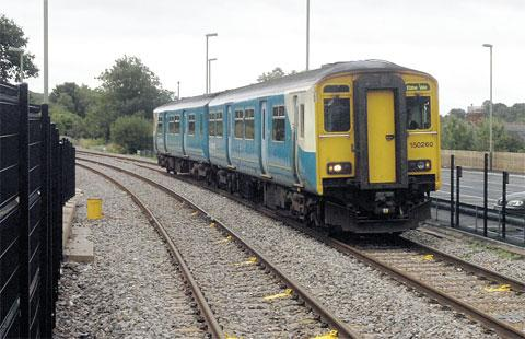 Animals on line at Crosskeys cause 45 minute train delays