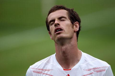 HUGE TALENT: Andy Murray was well beaten at Wimbledon on Sunday, but he's still one of our finest sportsmen and deserves our support