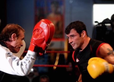 Enzo Calzaghe with his most famous pupil Joe Calzaghe