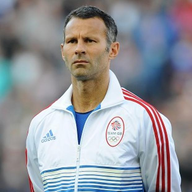 NO ANTHEM ISSUE: Team GB skipper Ryan Giggs opened the scoring against UAE