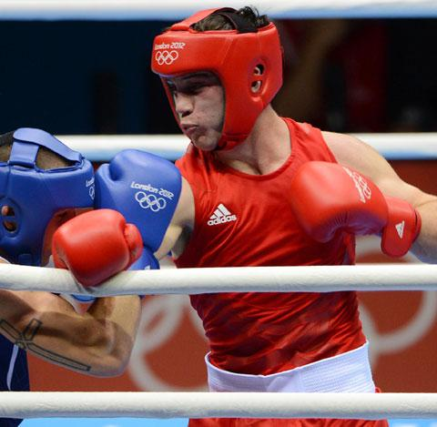 Fred Evans suffers Commonwealth Games KO