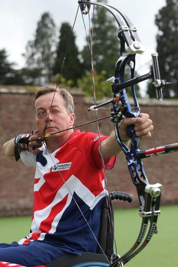 Paralympian archer hoping to repeat gold feat
