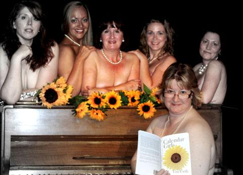 Make a date with Blackwood's Calendar Girls