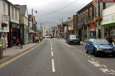 CRACKDOWN: Blackwood High Street