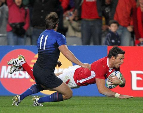 SUSPENDED: Wales star Mike Phillips