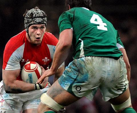 Wales and Dragons star Dan Lydiate