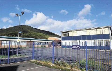 DEMOLITION: Cwmcarn High School