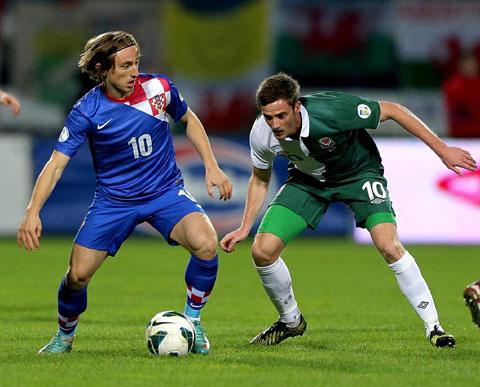 REAL DEAL: Croatia and Real Madrid star Luka Modric