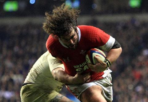 CLASS ACT: Wales tighthead prop Adam Jones