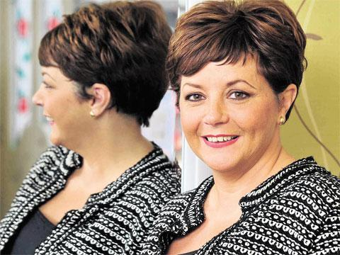 HELPING HOSPITAL: Hairdresser Kathryn Pratt, who raises money for the Royal Gwent Hospital's breast cancer unit where she was treated