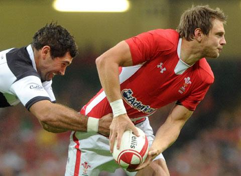 POINT TO PROVE: Ospreys fly-half Dan Biggar gets his chance  for Wales against Samoa this evening