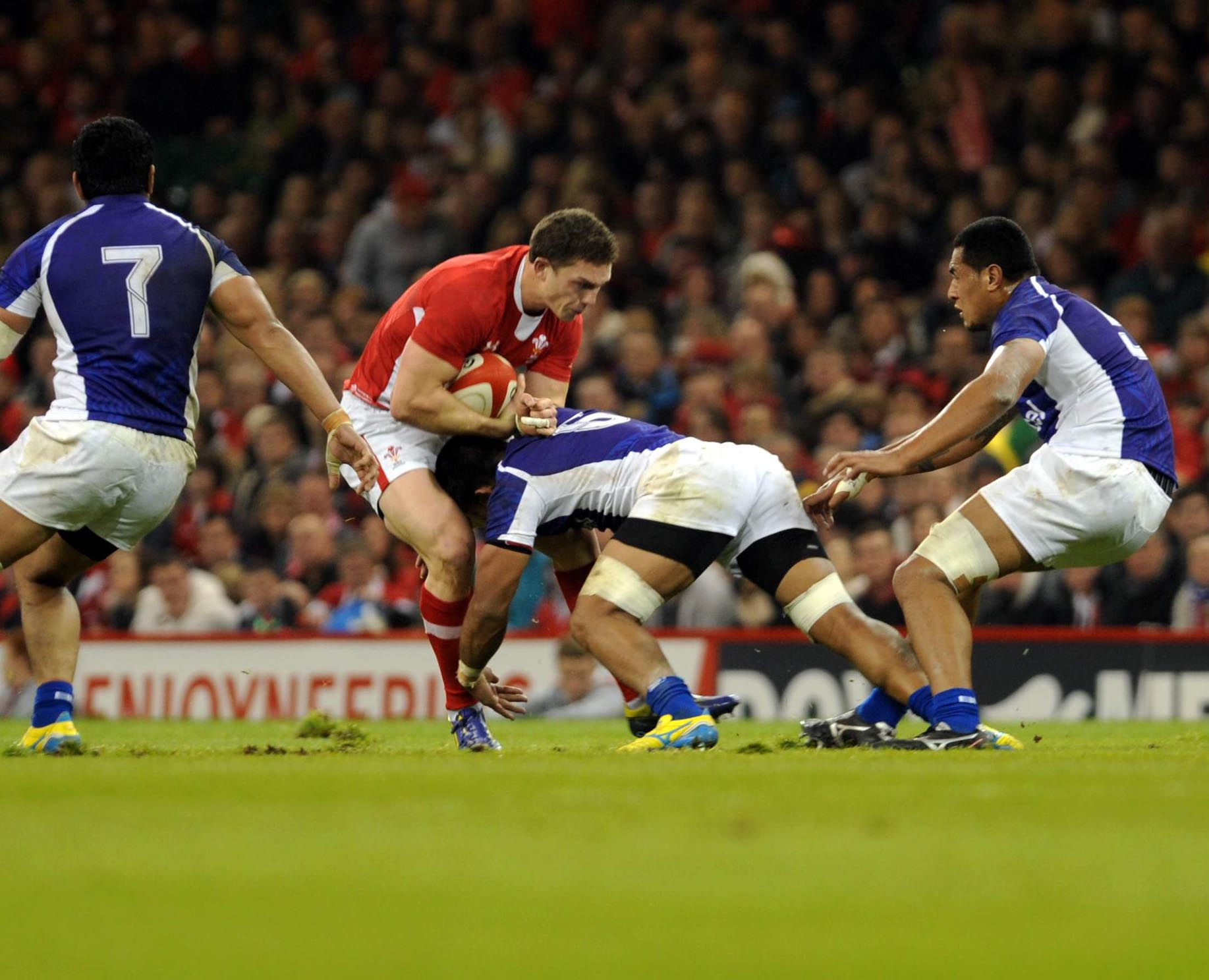 Another disaster for Wales and Howley as Samoa triumph at Millennium Stadium