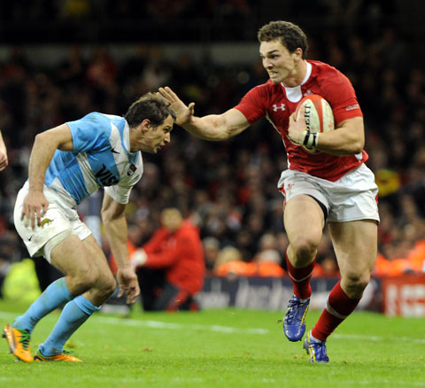 TWITTER YE NOT: Victim of internet snipers, Wales wing George North