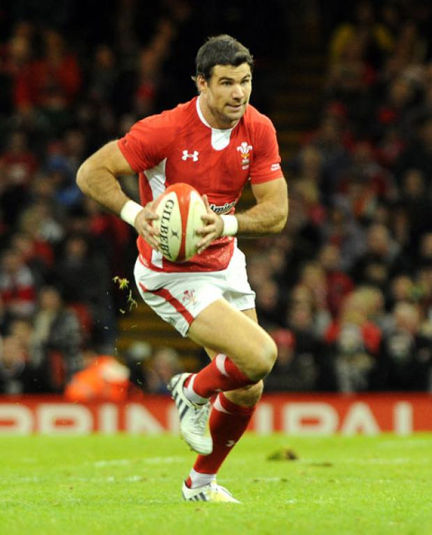 NEVER SAY DIE: Wales scrum half Mike Phillips