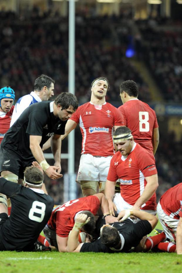 Don't believe the hype, Wales were a distant second best