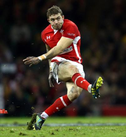 LATE INJURY: Wales full back Leigh Halfpenny