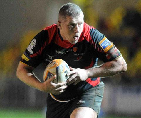 RUPTURED BICEP: Dragons hooker Steve Jones could be out for the rest of the season
