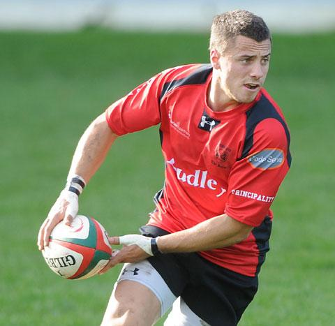 CLASS ACT: Cross Keys playmaker Dorian Jones kicked 20 points and steered his side into the Swalec Cup semf-finals
