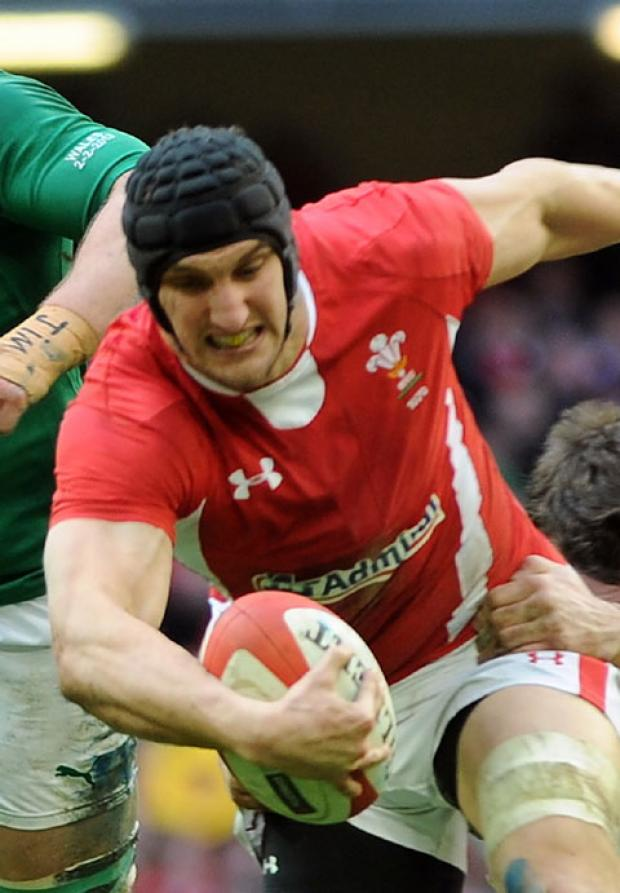 POOR FORM: Wales captain Sam Warburton's place could be under threat