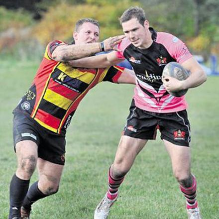 Pontypool's Ashley Norton during a match last year against Blackwood