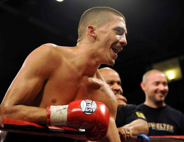 CHAMPION: Lee Selby is the new European featherweight champion