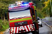 Firefighters called to house fire in Abercarn