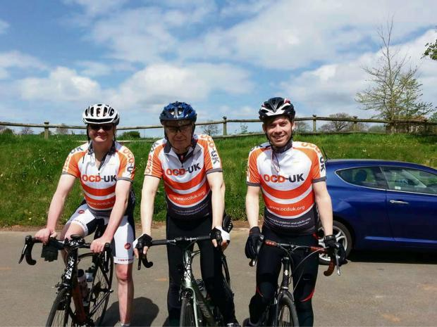 Committed: Cyclist team RIDE4OCD