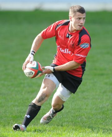PERFECT 10: Dorian Jones controlled matters well for Cross Keys at fly-half