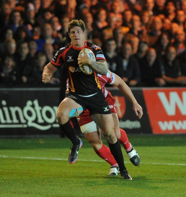 Campaign Series: Ross Wardle keen to learn off Dragons midfield partner Ashley Smith